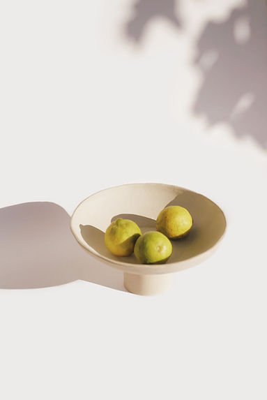Keramik Obst Schüssel