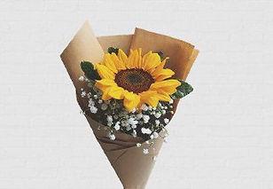 small sunflower bouquet singapore graduation