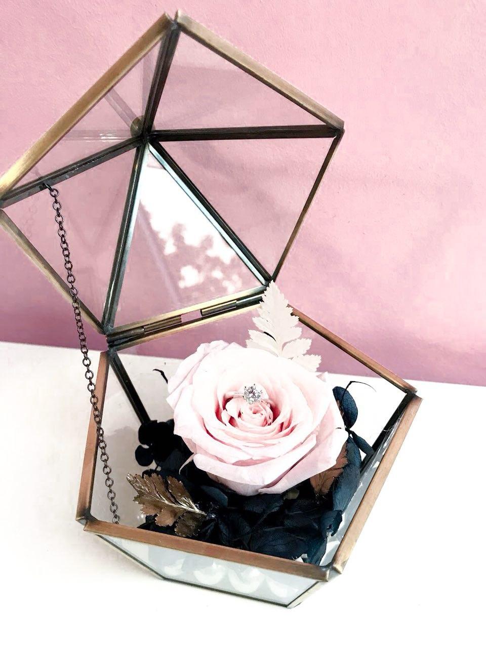 Preserved Flower Domes Eternal Rose