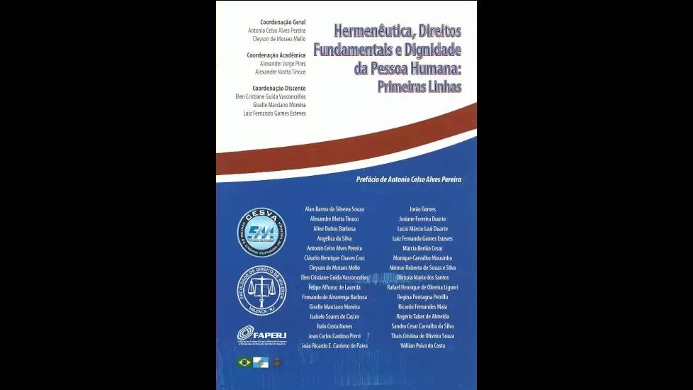 Hermenêutica, Direitos Fundamentais...