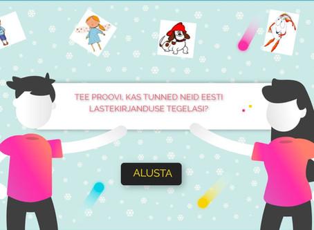 Kas tunned neid Eesti lastekirjanduse tegelasi?