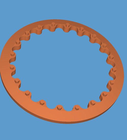 Weld bead lock in pair