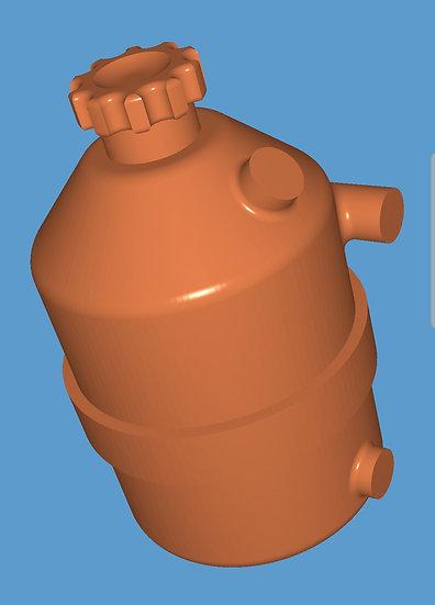 Dry sump tank