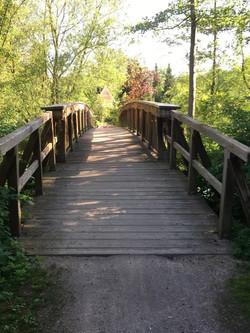 Brücke über die Schwentine