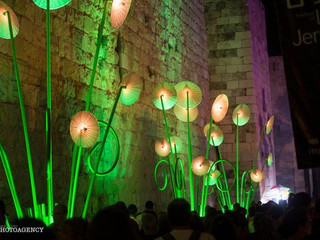 Lights on Jerusalem