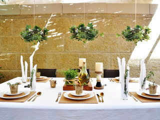 Gorgeous Succah Decor