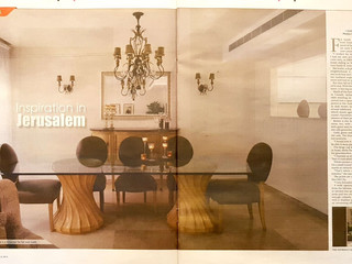 My home featured in the JPost Magazine