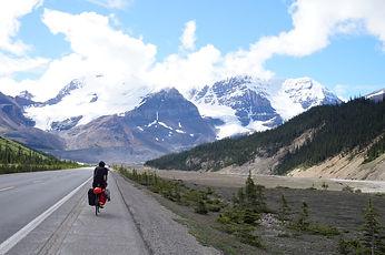 Biking in Jasper