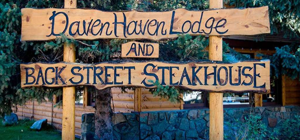 Welcome to Daven Haven Lodge and Backstreet Steakhouse!
