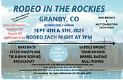 RODEO IN THE ROCKIES LABOR DAY WEEKEND