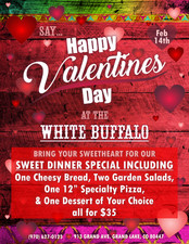 White Buffalo Valentine's Day