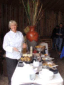 Carey Barnes Owner and Chef of Stone Creek Catering
