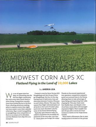 Featured in USHPA Pilot Magazine Nov/Dec Issue!