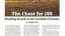 """The Chase for 200""~USHPA Pilot Magazine~ November 2018"