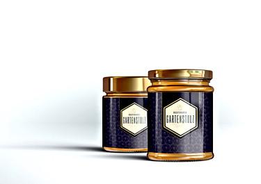 Etiketten für Grafenauer Honig