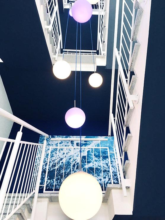 Treppenhaus WhiteCorals