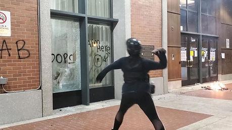 protester rock.JPG