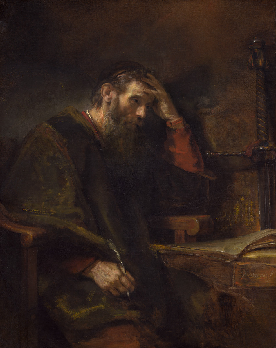 The Apostle Paul by Rembrandt van Rijn