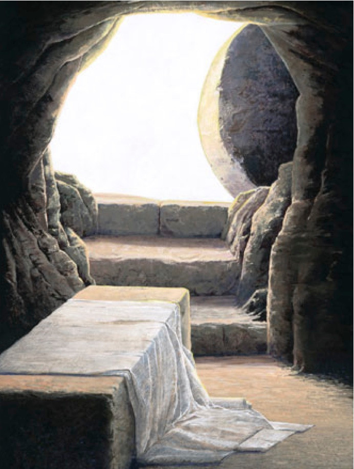 This empty tomb is a real gamechanger.