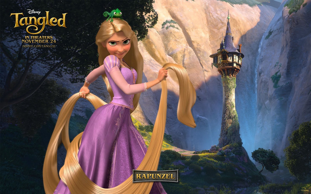 In this story, there's a beautiful princess with a problem. Copyright 2010 by The Walt Disney Company.