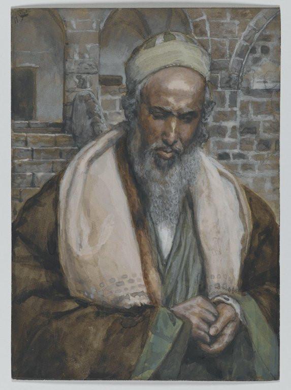 Saint Luke (Saint Luc) by James Tissot, Brooklyn Museum.