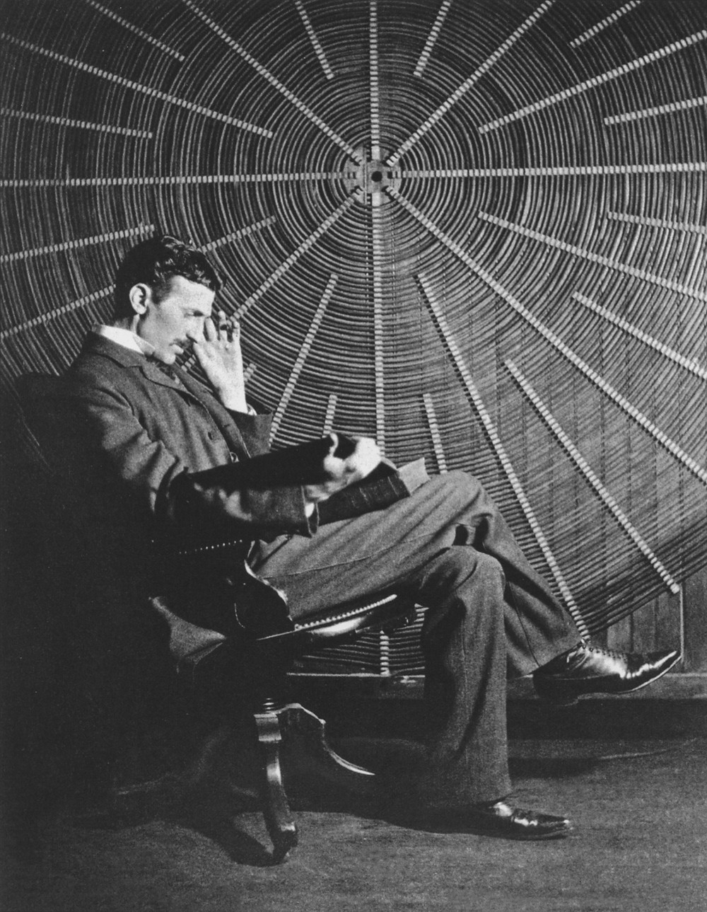 Nikola Tesla left behind quite a few mysterious notebooks and papers.