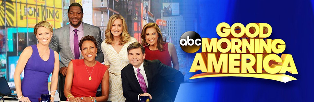 How exciting! Who wouldn't want to be invited to be a guest on GMA? Congratulations, Sally!