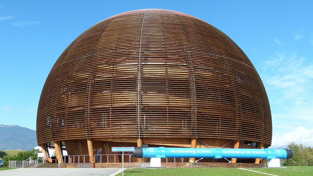 CERN's famous half orb of human awesomeness.