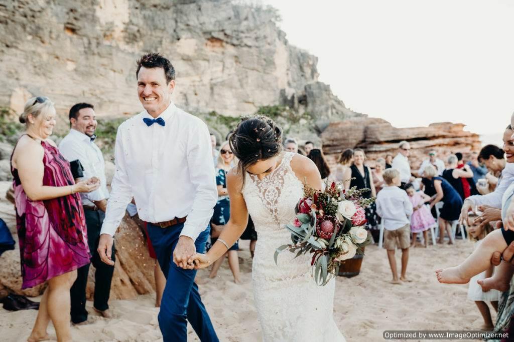 Eco Beach Wedding