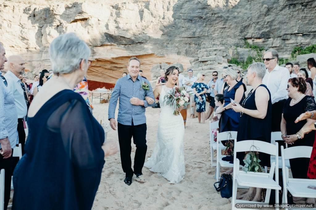 Broome Florist Beach Wedding