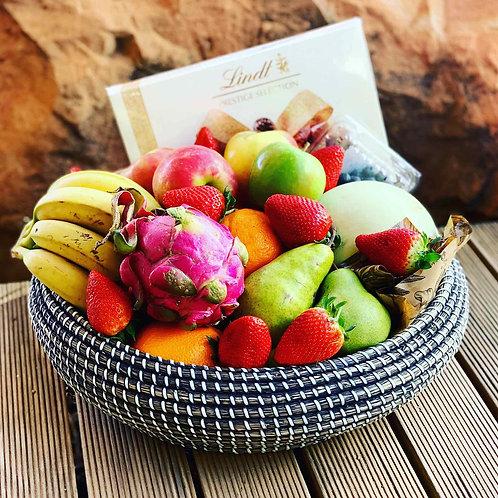 Seasonal Fruit & Chocolate Hamper
