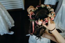 Flower Crown by Broome Florist