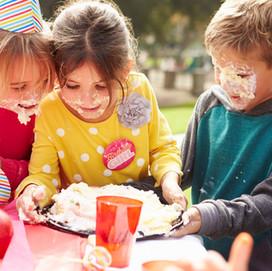 Posso fazer uma festa apenas com crianças?