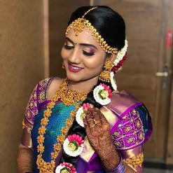 ❤️ #bridalmakeup #bridetobe #maduraiwedd