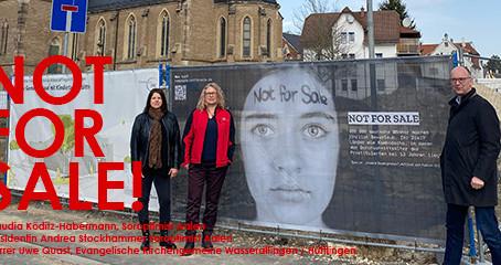 """Kampagne """"Not for sale"""" auf der Ostalb"""