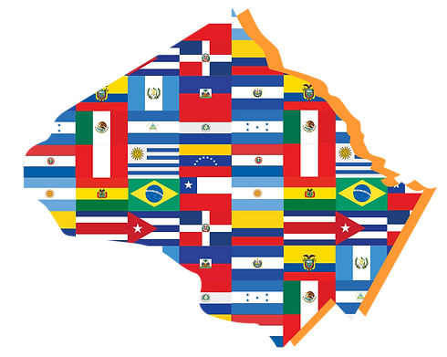 Montgomery Latino Flag Map.png