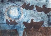 "Jane Woodard     ""Night Birds"""