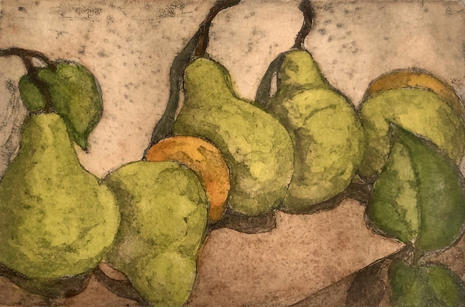 Cindi Lewis | Row of Pears