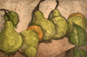 "Cindi Lewis  |  ""Row of Pears"""