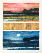"""Nina Muys     """"Sunrise and the Moon"""""""