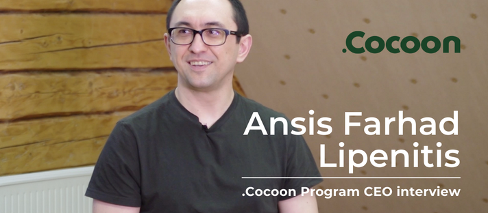 .Cocoon Podcast #1 - Ansis Lipenitis - How Cocoon supports founders personal and business growth