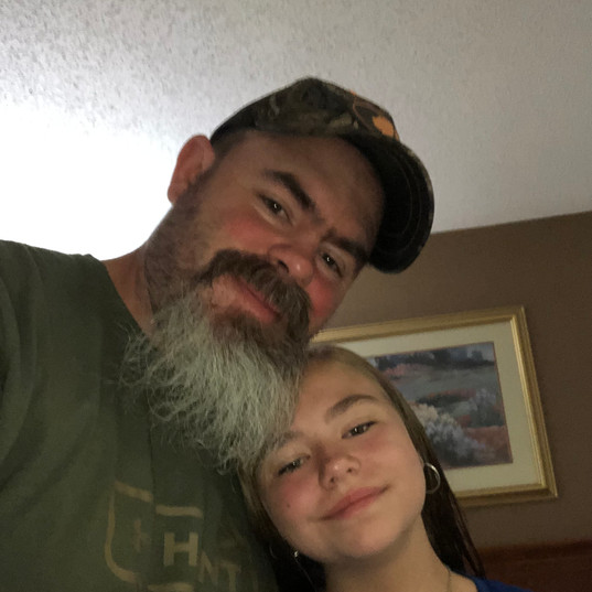 Kaylee and her dad coach Eric