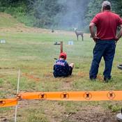 Brody shooting muzzleloader