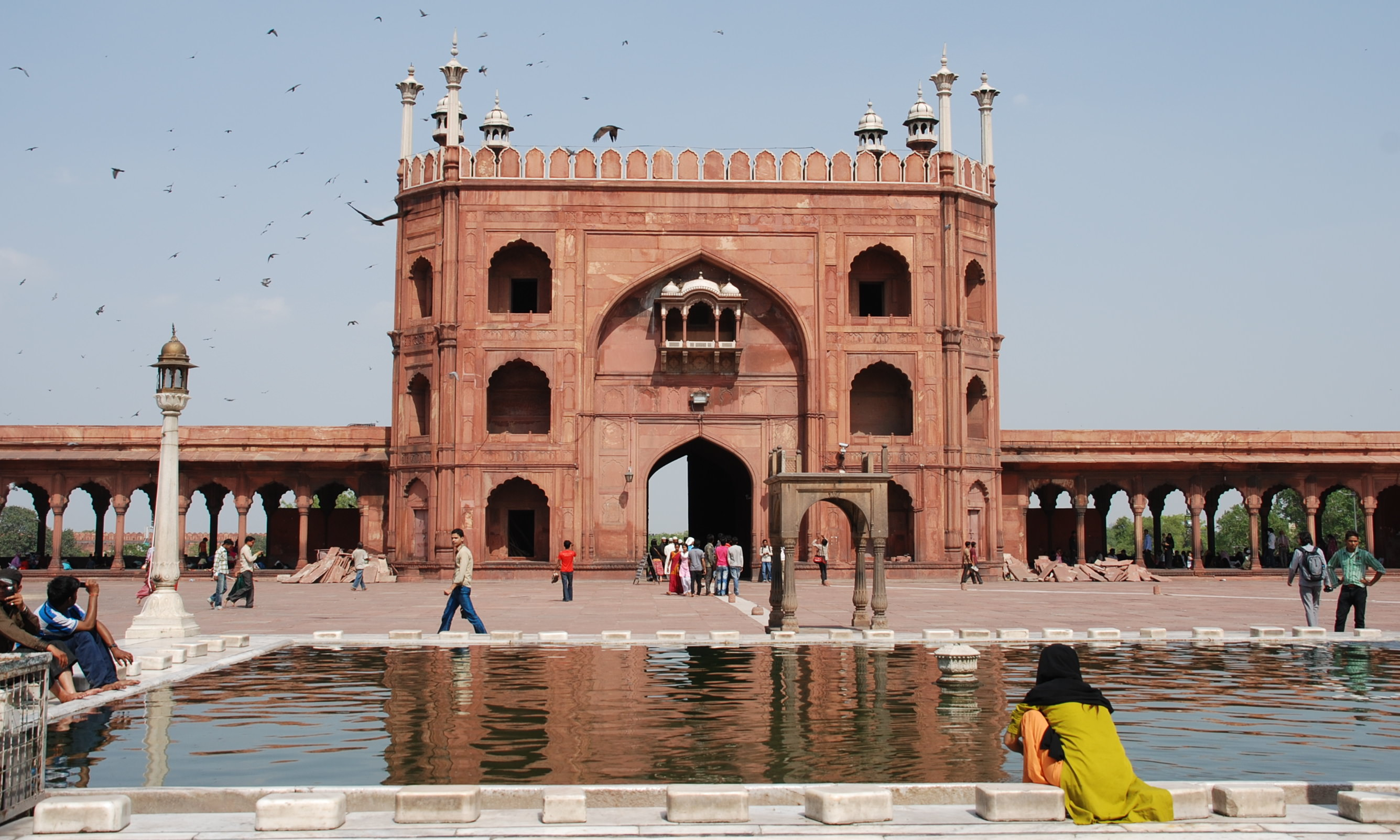 Jama Masjid - inside