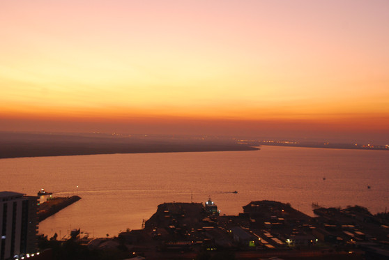 Darwin at sunrise