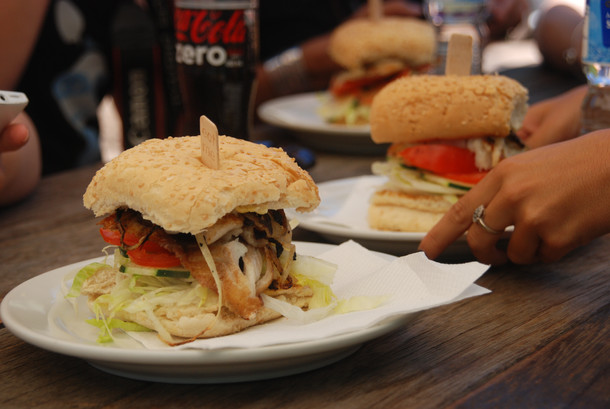 Barrramundi Burger