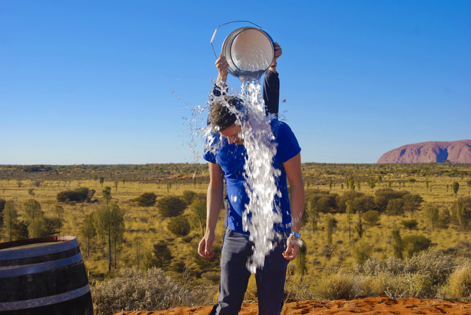 Ice Challenge in the Outback