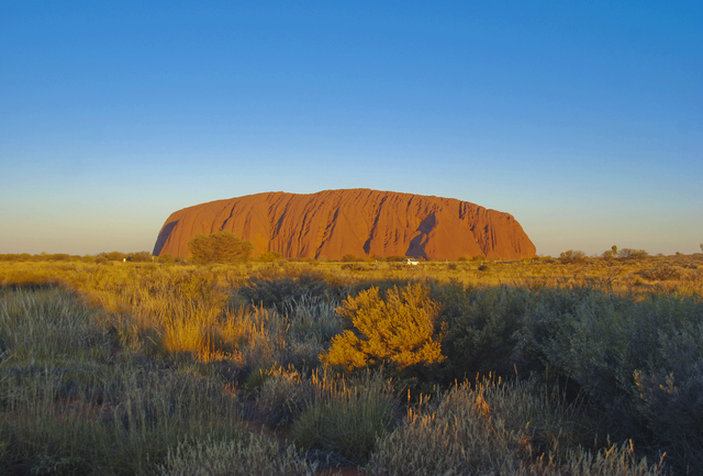 Uluru during the afternoon