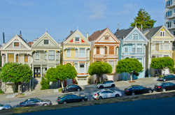 Painted Ladies from Alamo Square