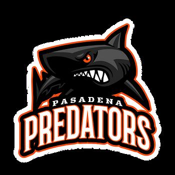 Pasadena Predators - Black Shark logo.pn